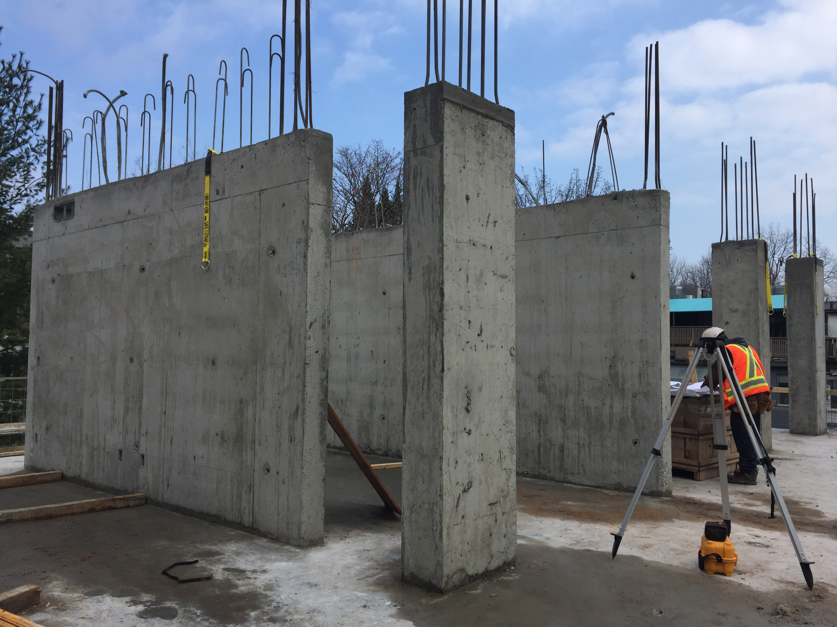 The Perry Construction Progress Mansouri